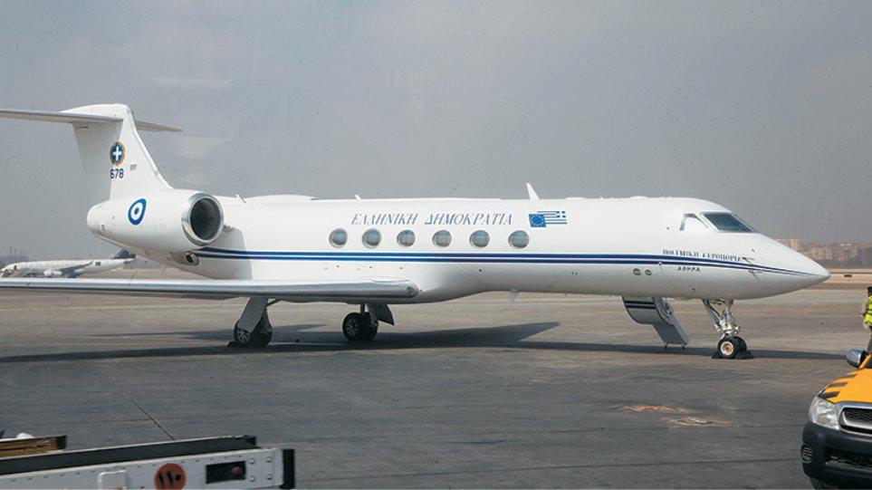 Αποτέλεσμα εικόνας για πρωθυπουργικό αεροσκάφος