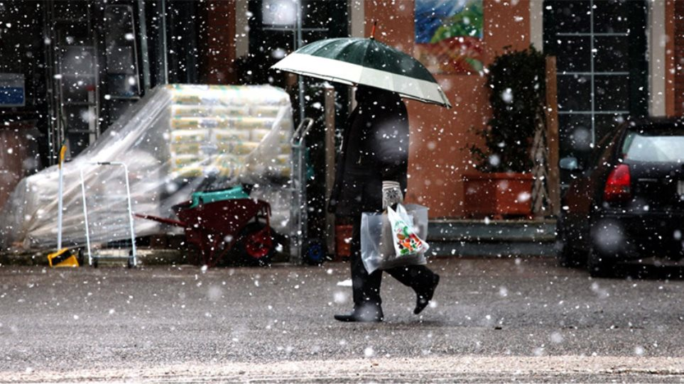 Χιόνι σε Πάρνηθα και Πεντέλη - Δείτε τι καιρό θα κάνει τα Χριστούγεννα