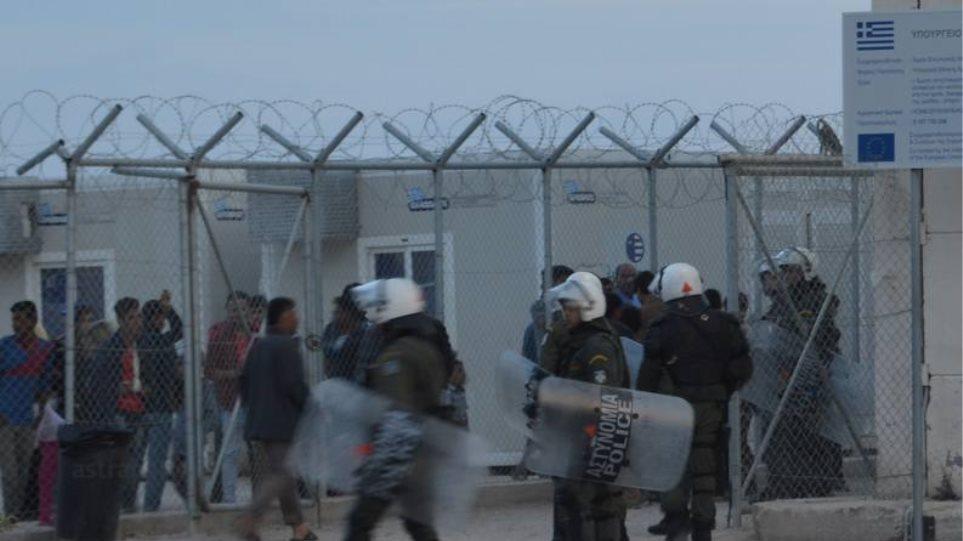 Χίος: Πετροπόλεμος και επεισόδια στο hotspot της ΒΙΑΛ