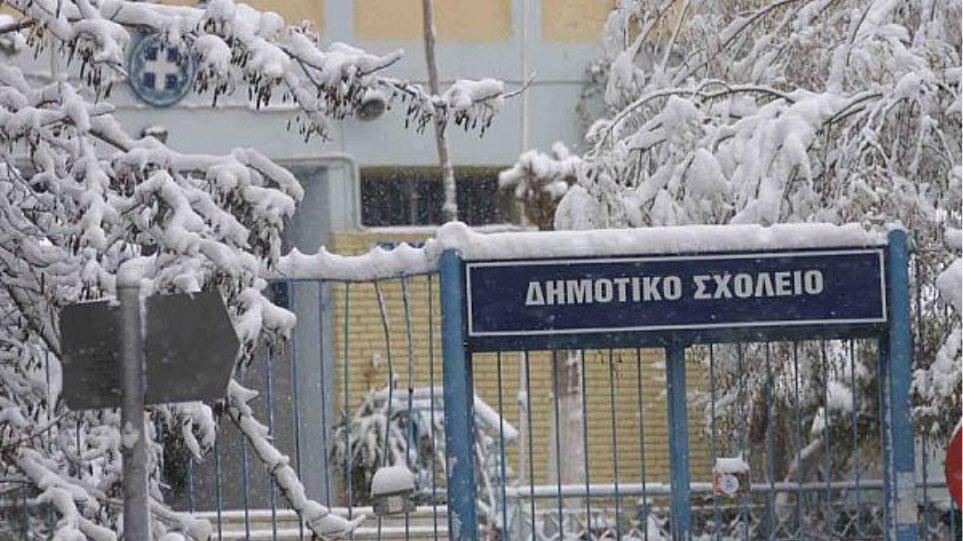 Αποτέλεσμα εικόνας για Κλειστά τα σχολεία Πρωτοβάθμιας και Δευτεροβάθμιας Εκπαίδευσης στο Δήμο Έδεσσας