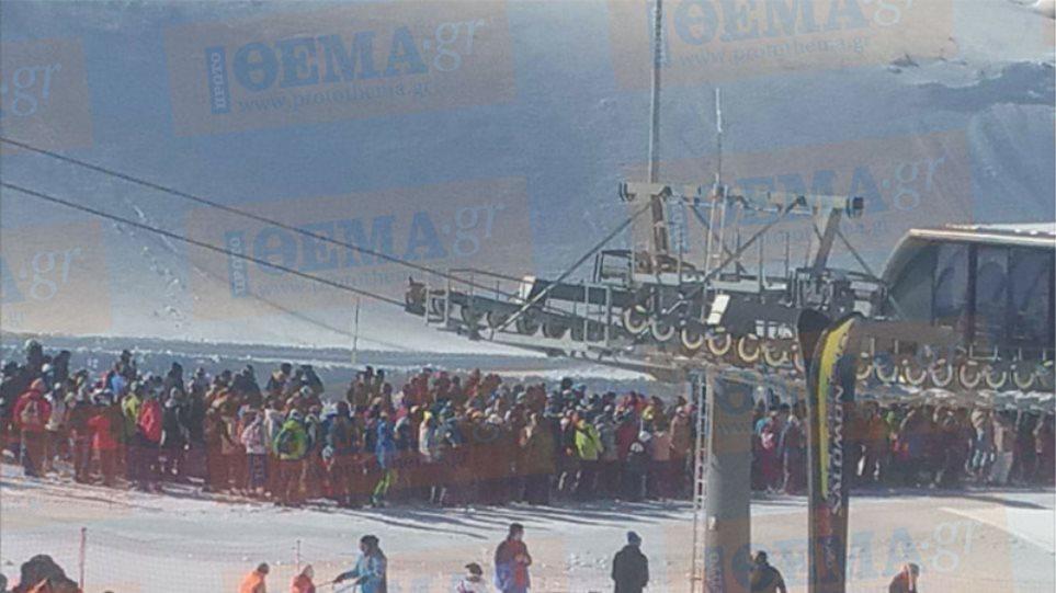 Ελληνικός Σύλλογος Τουριστικής Χιονοδρομίας: Χρονικό προαναγγελθέντος θάνατου το χάος στον Παρνασσό