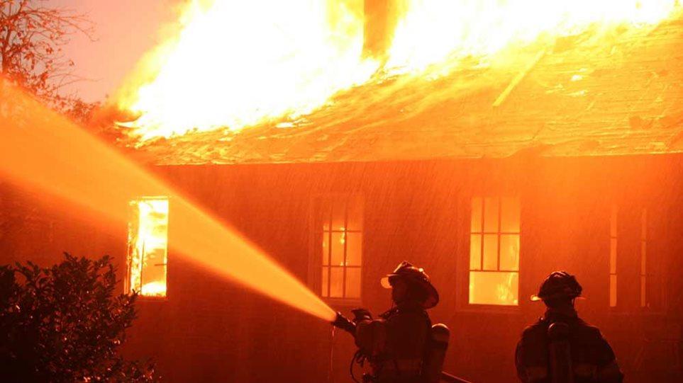 eed6422a12 Κάηκε ολοσχερώς το σπίτι νεαρού ζευγαριού στο Πωγώνι Ιωαννίνων