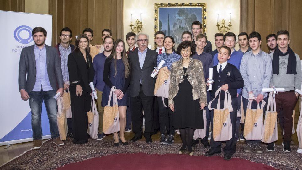 Τις ελληνικές διάνοιες του αύριο στηρίζει το Ίδρυμα Ωνάση