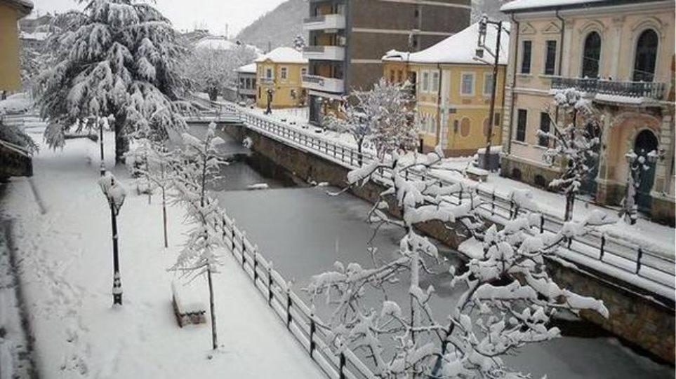 Αποτέλεσμα εικόνας για χιονι φλωρινα