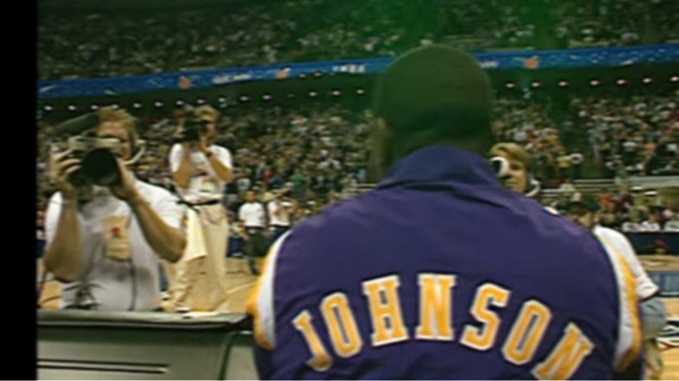 1992: Η μεγάλη επιστροφή του Μάτζικ Τζόνσον για το All Star Game