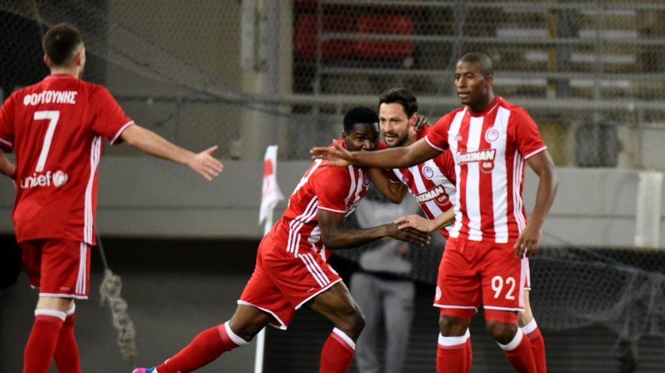 Ολυμπιακός-Λάρισα 2-0: Γρήγορα, εύκολα και πολύ άνετα