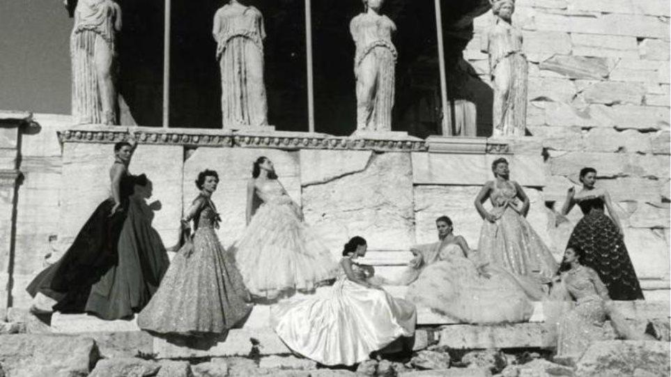 Κι όμως ο Dior έχει κάνει επίδειξη μόδας στην Ακρόπολη