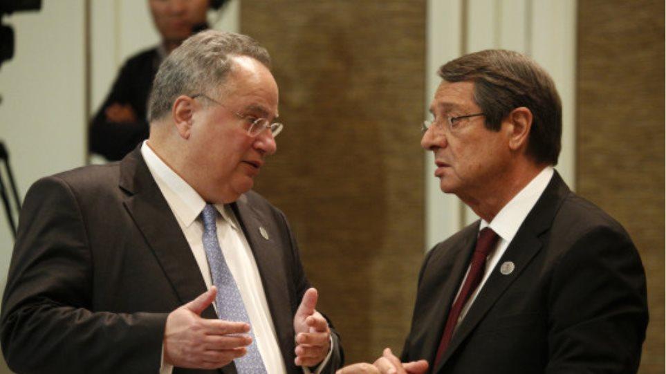 Συνάντηση Αναστασιάδη - Κοτζιά με επίκεντρο το Κυπριακό