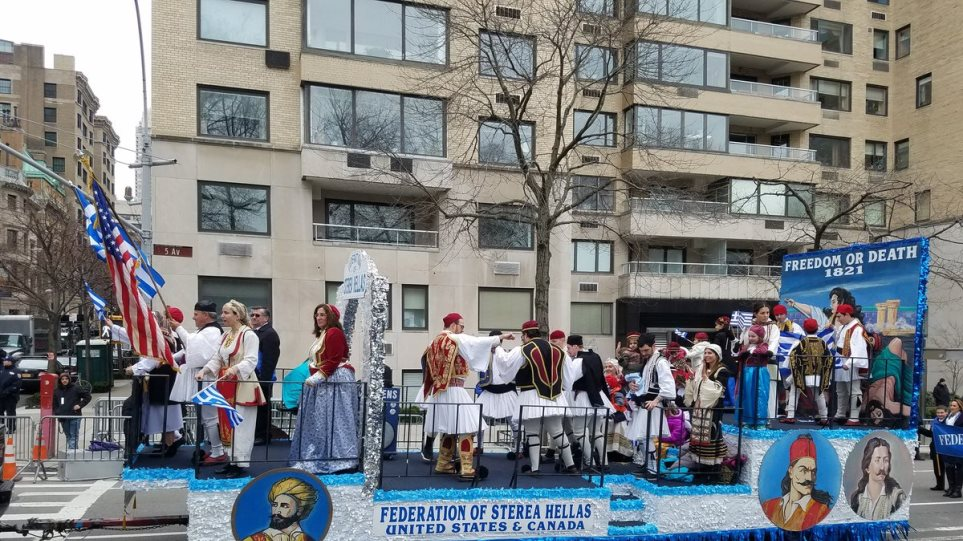 Η παρέλαση για την Εθνική Επέτειο στην 5η Λεωφόρο της Νέας Υόρκης