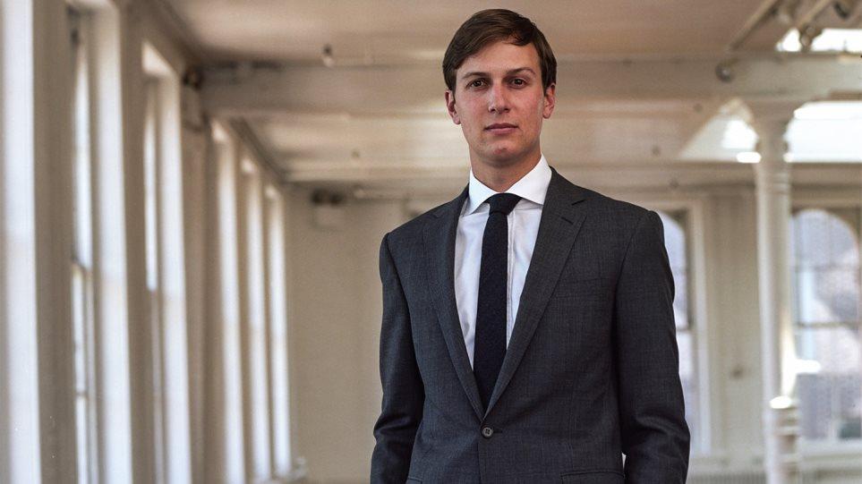 Θέση στο Λευκό Οίκο για προώθηση επιχειρηματικών θέσεων αναλαμβάνει ο γαμπρός του Τραμπ