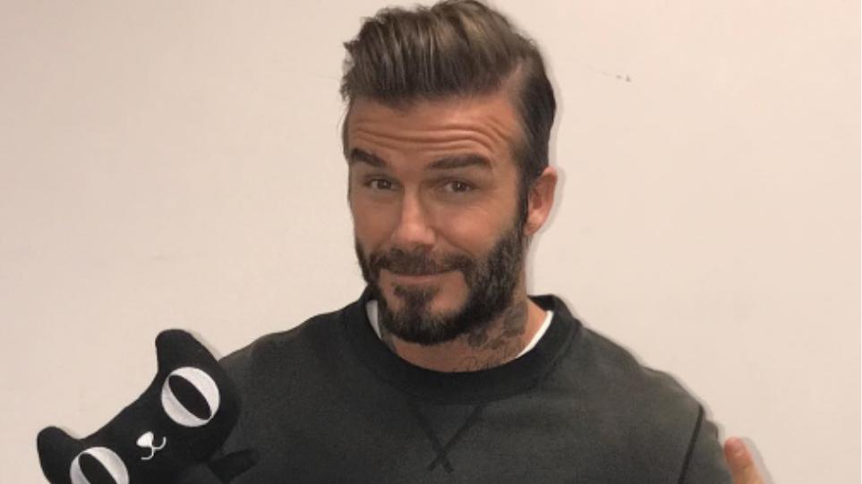 Δείτε τον David Beckham όπως... δεν τον έχετε ξαναδεί, με σάπια δόντια και ουλές!