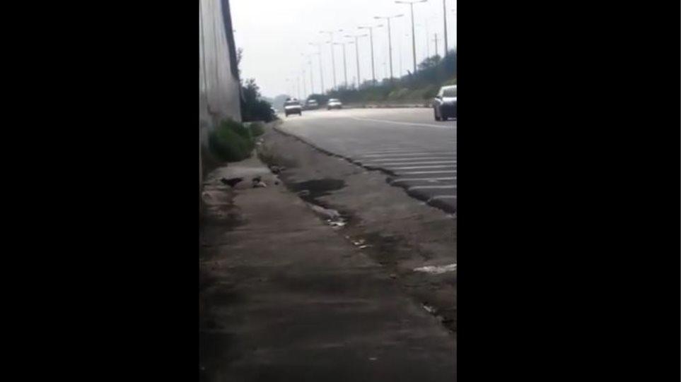 Αδιανόητο: Οδηγός στην Κρήτη έκανε όπισθεν στην εθνική οδό