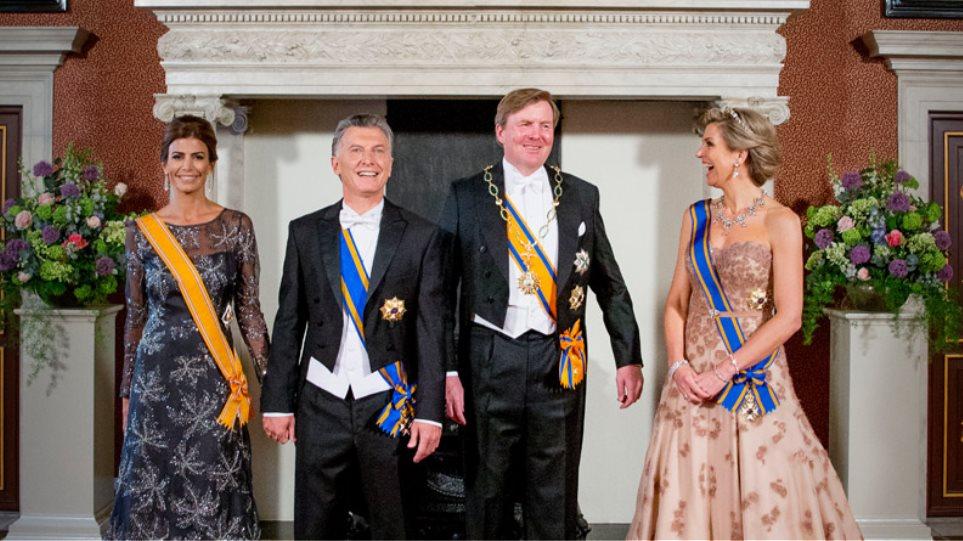 Επισκίασε η βασίλισσα Μαξίμα με την λάμψη της την Πρώτη Κυρία της Αργεντινής