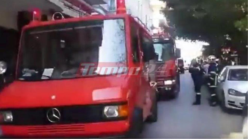 Πάτρα: Πυρκαγιά στο σπίτι της οικογένειας του Κωστή Στεφανόπουλου