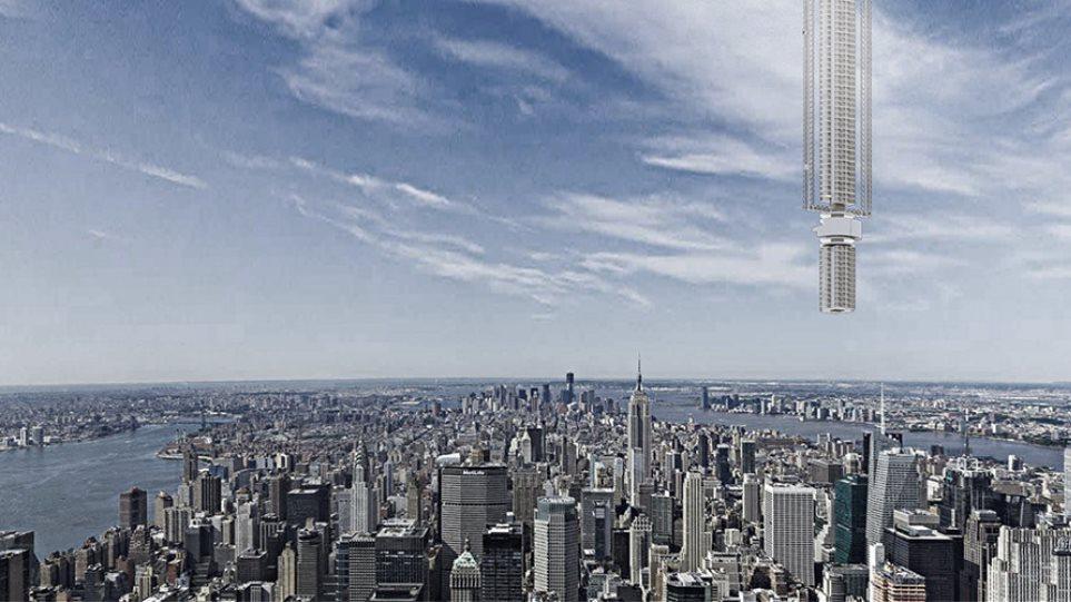 Δείτε τον ουρανοξύστη που θα κρέμεται από αστεροειδή στη Γη