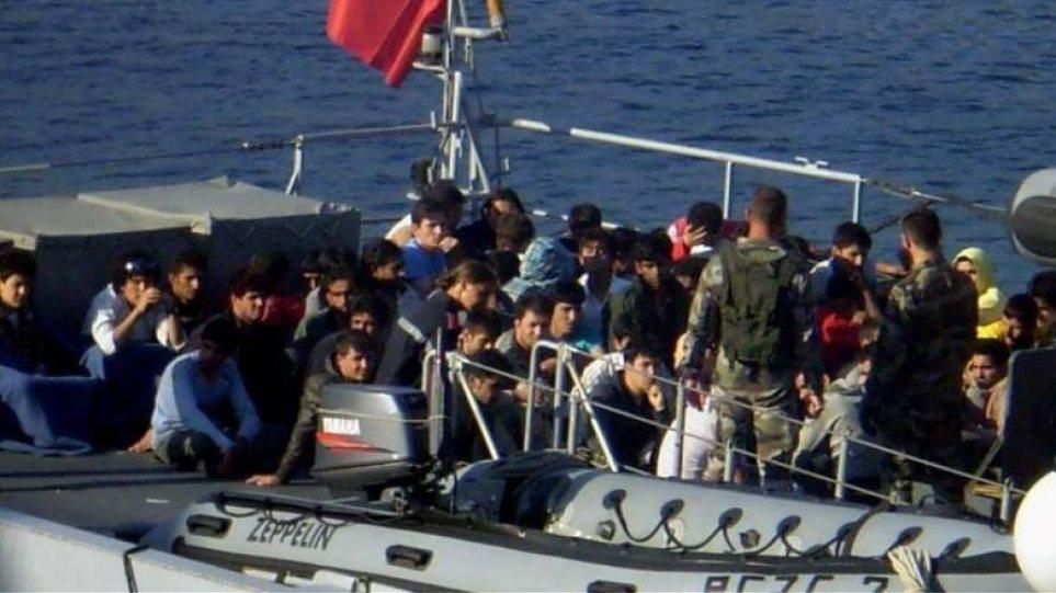 Πλοιάριο με 91 Σύρους προσάραξε στις ακτές της Κύπρου