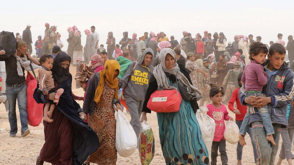 ΟΗΕ: Πάνω από 5 εκατ. οι Σύροι πρόσφυγες στις αραβικές χώρες