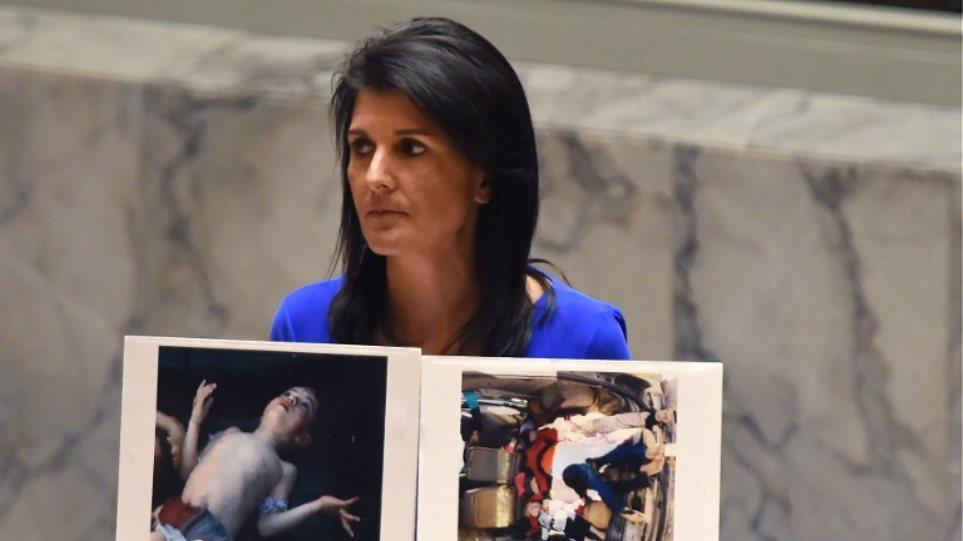 Παγκόσμια οργή για τα χημικά στη Συρία και τη στάση της Ρωσίας