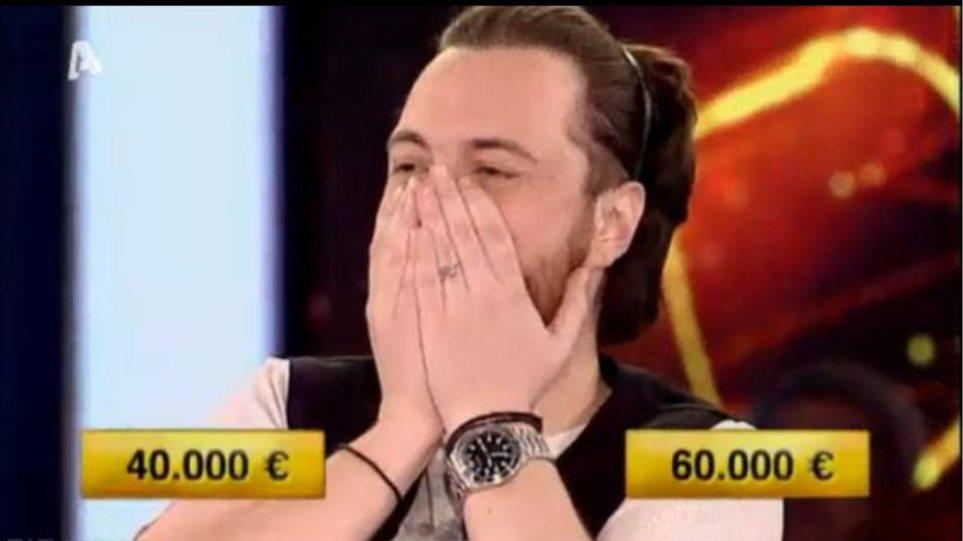 Ο παίκτης που τίναξε την μπάνκα του Deal στον αέρα και πήρε τα 60.000 ευρώ