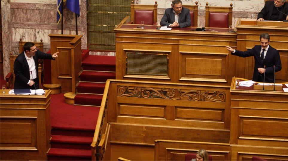 Πρωτοφανής σύγκρουση Τσίπρα-Κυριάκου για τροπολογία που διαγράφει πρόστιμα στον Σαββίδη