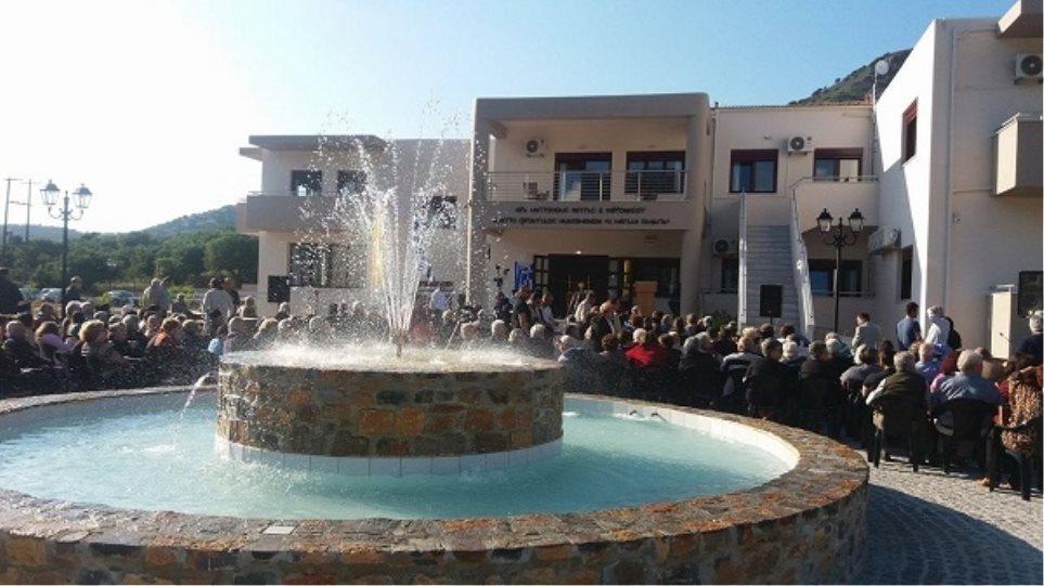 """Εγκαινιάστηκε το κέντρο φροντίδας ηλικιωμένων """"Μεγάλη Παναγία"""", στη Λατσίδα Λασιθίου"""