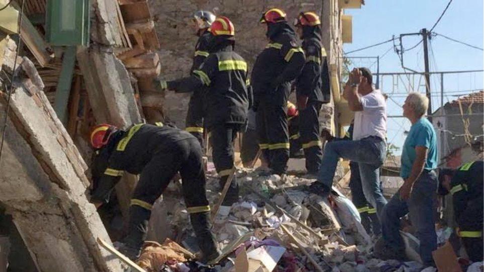 Λέσβος: Νεκρή ανασύρθηκε γυναίκα που είχε εγκλωβιστεί στη Βρίσα