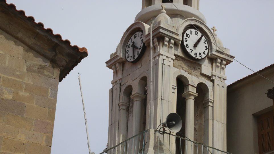 Μαρτυρία από Πλωμάρι: Κατέρρευσε μέρος της εκκλησίας του Αγίου Νικολάου