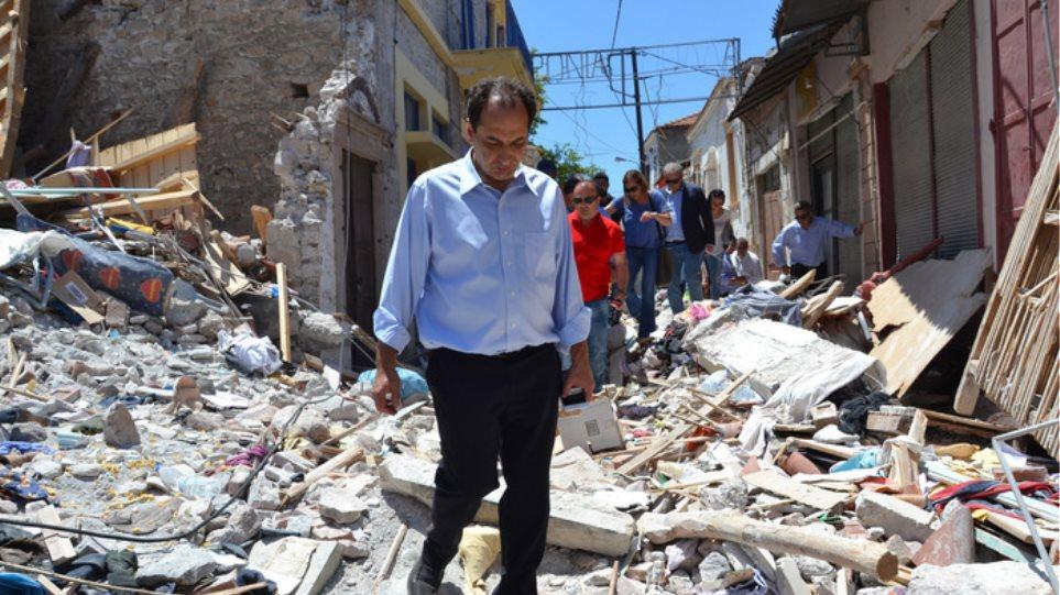 Σπίρτζης από Μυτιλήνη: «Η Βρισά θα ξαναγίνει όπως ήταν»