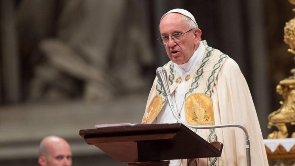 Δωρεά 50.000 ευρώ από τον Πάπα Φραγκίσκο για τη σεισμόπληκτη Λέσβο