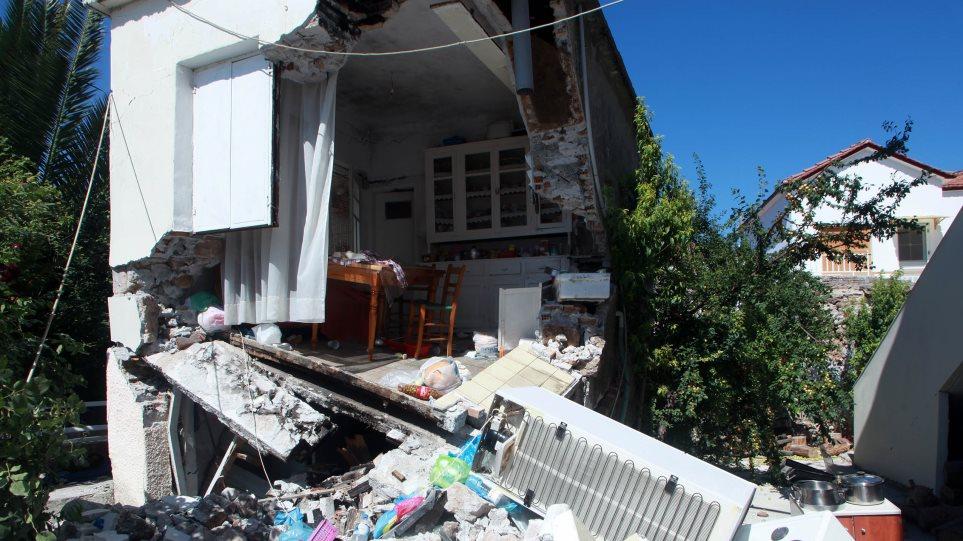 Επίδομα και διευκολύνσεις προς τους σεισμοπαθείς της Λέσβου