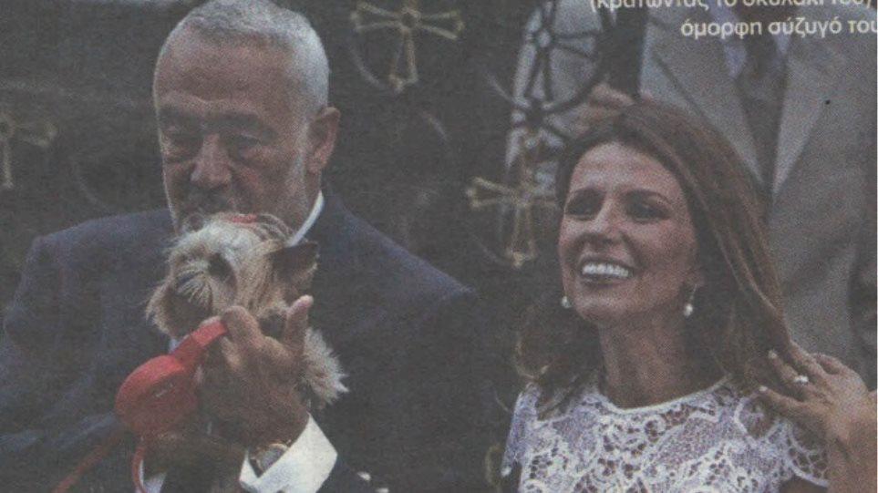 Παντρεύτηκε για τρίτη φορά ο εφοπλιστής Μιχάλης Γουλανδρής