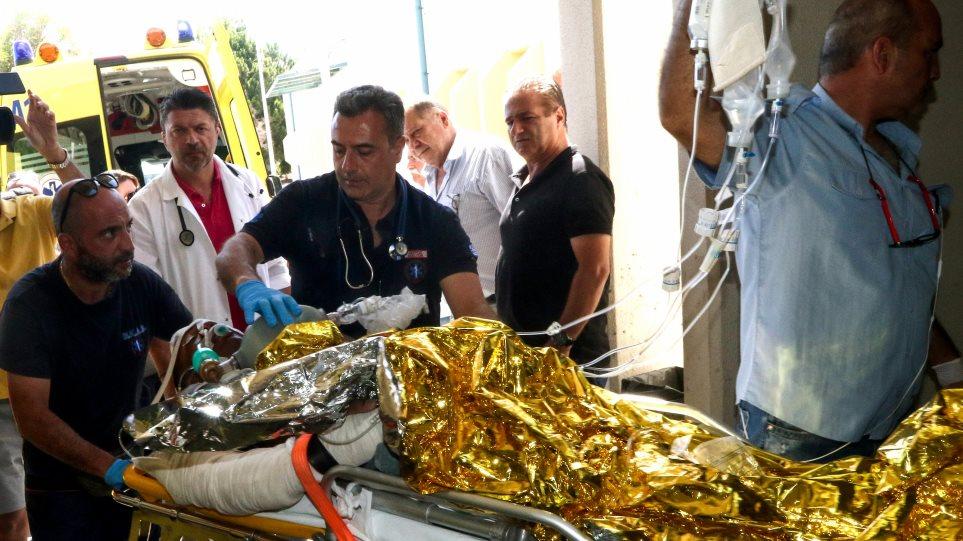 Δείτε βίντεο: Σε Θριάσιο - ΠΑΓΝΗ και Βενιζέλειο οι 7 τραυματίες του φονικού σεισμού