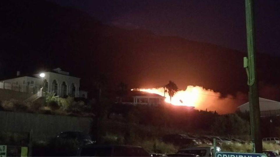 Υπό έλεγχο οι πυρκαγιές στην Κεφαλονιά