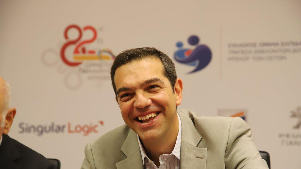 Έφτασε στην ΔΕΘ ο Τσίπρας: «Αισθάνομαι στη Θεσσαλονίκη σαν στο δεύτερο σπίτι μου»