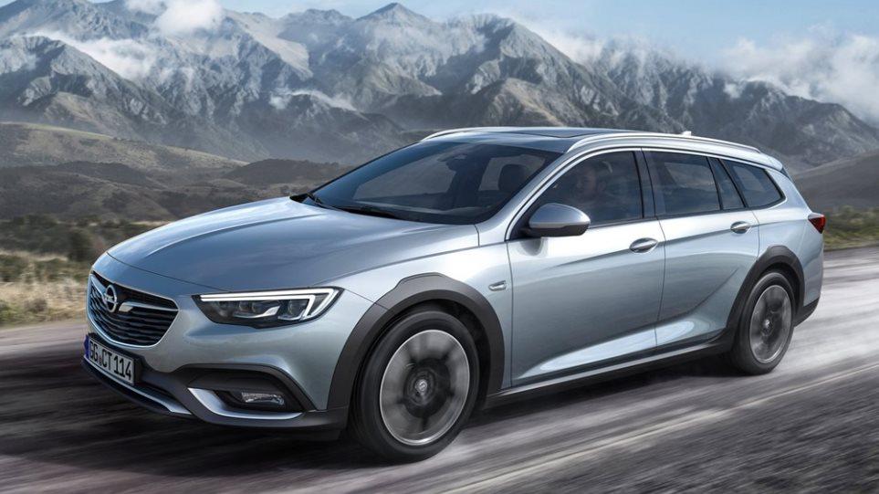 Ξεκινά το λανσάρισμα του Opel Insignia Country Tourer