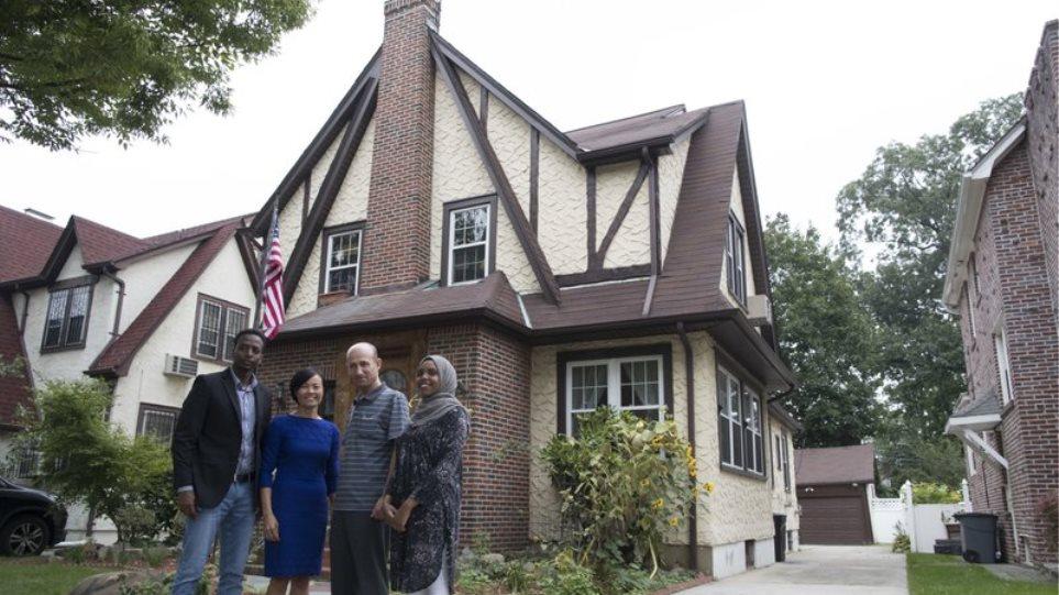 Έκαναν «καταφύγιο αστέγων» το σπίτι που μεγάλωσε ο Ντόναλντ Τραμπ