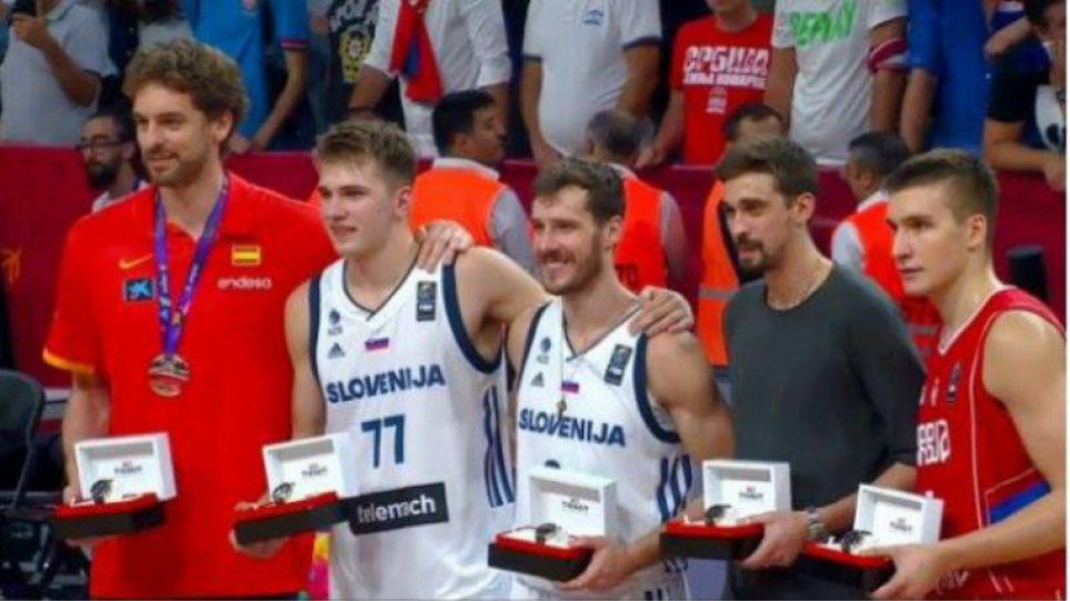 Βίντεο: Η κορυφαία πεντάδα του Eurobasket με Ντράγκιτς και Ντόντσιτς!