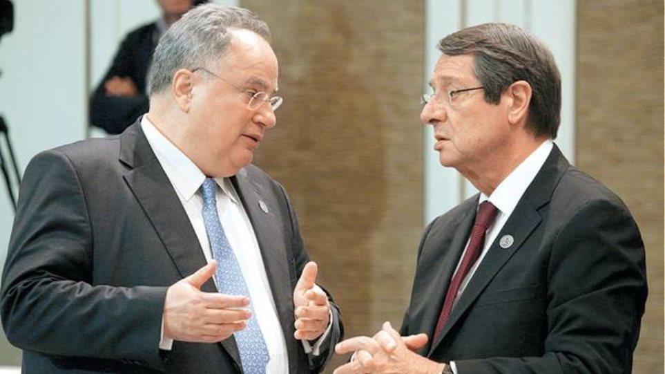 Συνάντηση Κοτζιά - Αναστασιάδη στη Νέα Υόρκη: Ο Ελληνισμός παλεύει ενωμένος, δηλώνει ο υπουργός Εξωτερικών