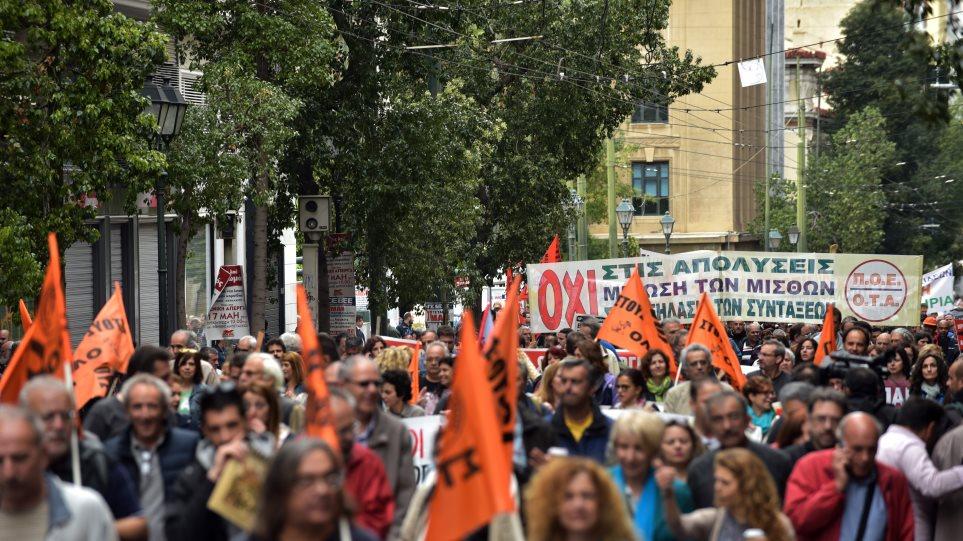 ΑΔΕΔΥ: Συγκέντρωση στην Κλαυθμώνος για την αξιολόγηση στο Δημόσιο
