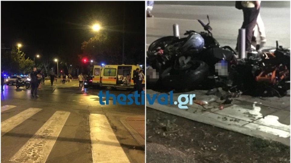 Πολύνεκρο τροχαίο στο κέντρο της Θεσσαλονίκης: Τρεις άνθρωποι έχασαν τη ζωή τους