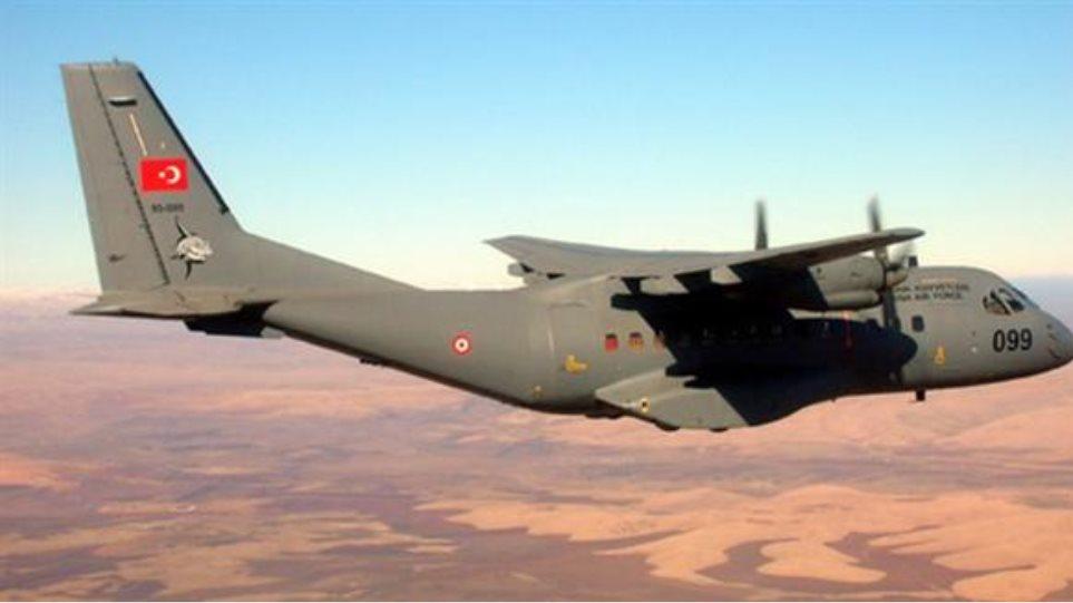 Τουρκικά αεροσκάφη έκαναν 42 παραβιάσεις του ελληνικού εναέριου χώρου