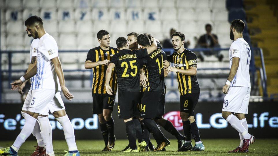 ΑΕΚ-Λαμία 2-0: Νίκησε και πάει με άλλο αέρα στο ντέρμπι με Ολυμπιακό