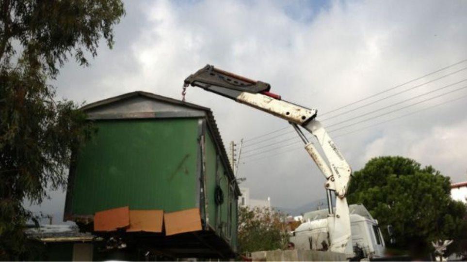 Λαμία: Έκλεψαν τεράστιο κοντέινερ που είχε μέσα μηχάνημα του Δήμου