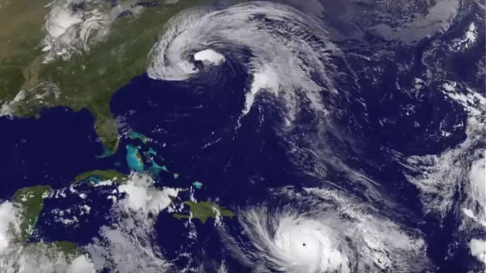 Βίντεο animation από τη NASA: Η «γέννηση» του τυφώνα «Μαρία» και η γιγάντωσή του