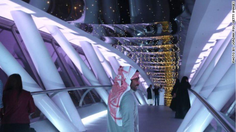 Η Σαουδική Αραβία επενδύει δισεκατομμύρια στη διασκέδαση