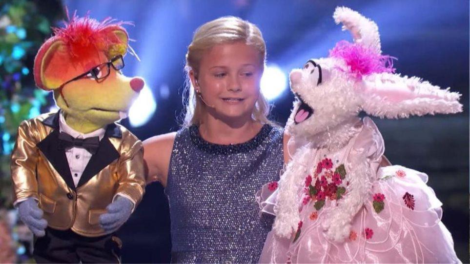 Η μικρούλα εγγαστρίμυθος Ντάρσι κέρδισε το «Αμερική έχεις ταλέντο» με ένα απίστευτο σόου