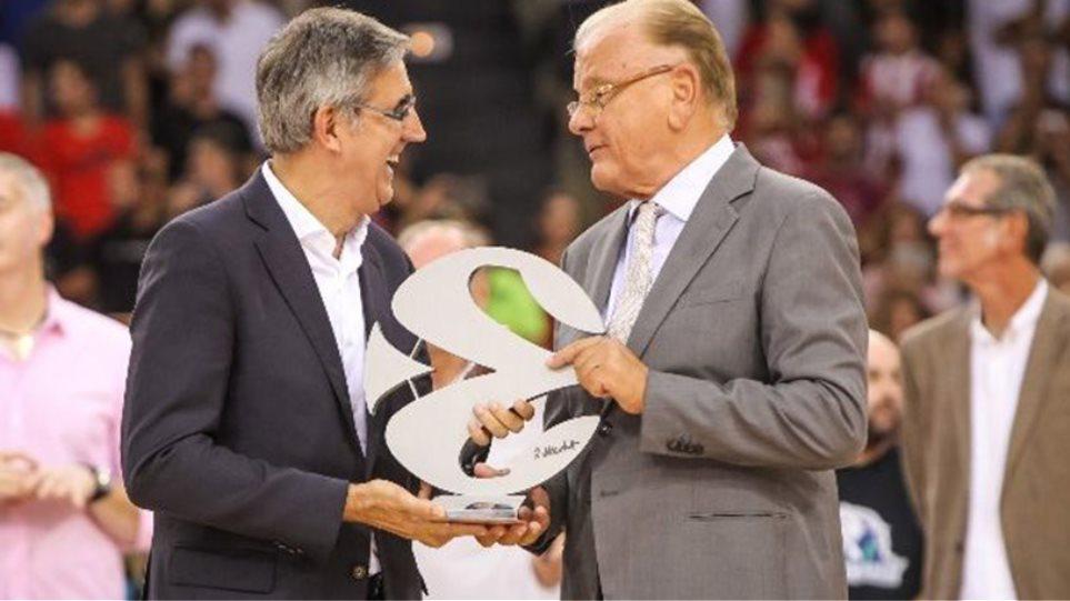Πρώτος EuroLeague Legend προπονητής ο Ίβκοβιτς, έβδομος στα χρονικά