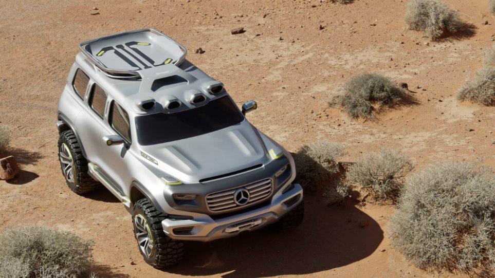 H Mercedes ετοιμάζει τη νέα GLB