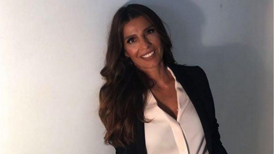 Η Πόπη Τσαπανίδου παρουσιάστρια του μεσημεριανού δελτίου ειδήσεων στο Star