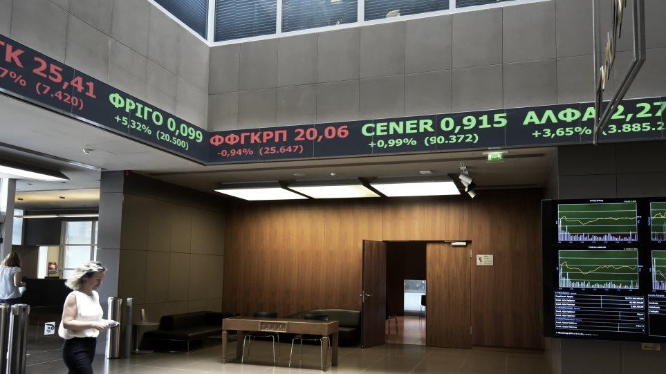 Χρηματιστήριο Αθηνών: Επανέκαμψε  στην «ομαλότητα» με άνοδο 1,06%